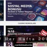 Bahisnow Her Hafta 2000 TL Bonus