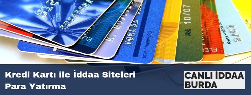 kredi kartı ile iddaa siteleri para yatırma
